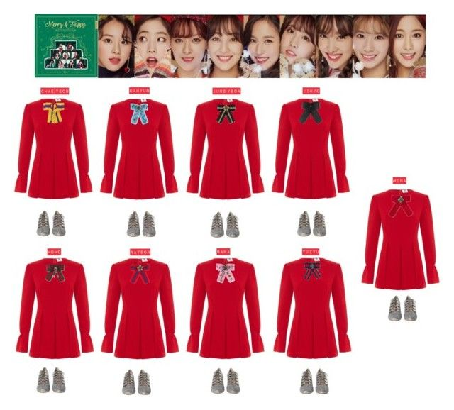 TWICE - MERRY HAPPY❤️💚💙💜💛💖 | My Polyvore Finds