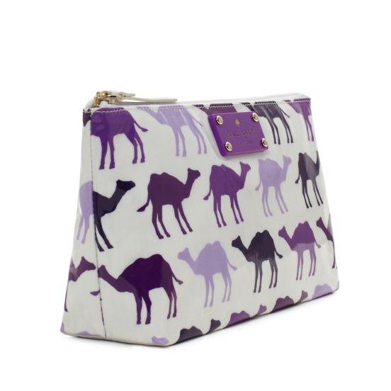 Pretty purple camel bag!