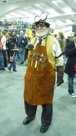 Professor Flockmocker from Dickens Fair