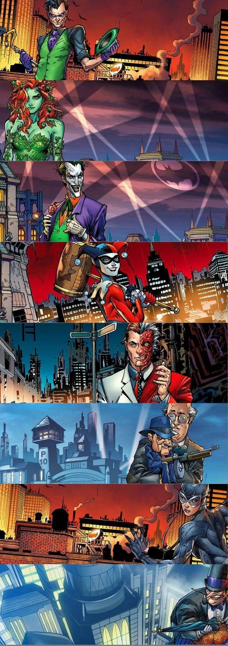 #Batman #Villans