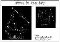 "Alphabet Sight Word Reader  Stars in the Sky - Ssf"" Focus Letter"
