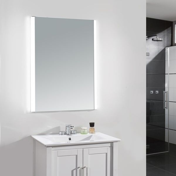 Shop Ove Decors Villon LED Bathroom Mirror At Lowes Canada Find Our Selection Of Mirrors The Lowest Price Guaranteed With Match Off