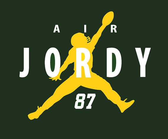 Air Jordy! Green Bay Packers Jordy Nelson TShirt by CharmCityGear <3