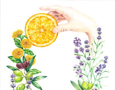 """Check out new work on my @Behance portfolio: """"Gift from nature"""" http://on.be.net/XEzXlu"""