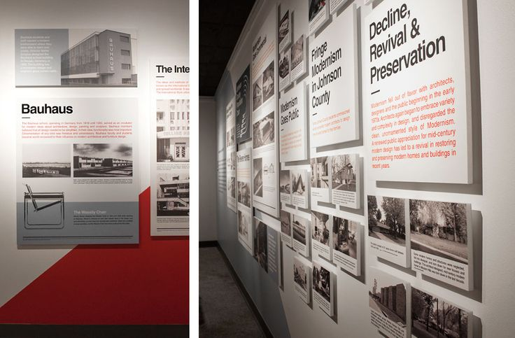 What is Modernism Exhibit on Behance