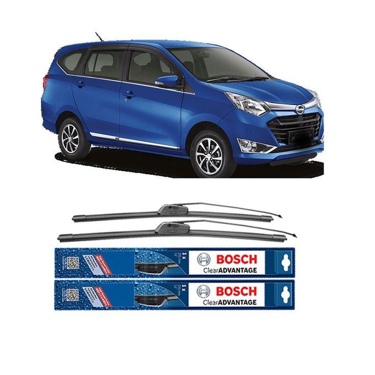 "Bosch Sepasang Wiper Frameless Clear Advantage Mobil Daihatsu Sigra 20"" & 14"" - 2 Pcs/Set  Frameless Umur Pakai & Daya Tahan Lebih Lama Penyapuan kaca yang senyap Performa Sapuan Optimal Instalasi Mudah & Cepat Original Produk Bosch  http://klikonderdil.com/frame-less/1239-bosch-sepasang-wiper-frameless-clear-advantage-mobil-daihatsu-sigra-20-14-2-pcsset.html  #bosch #wiper #jualwiper #frameless #daihatsusigra"