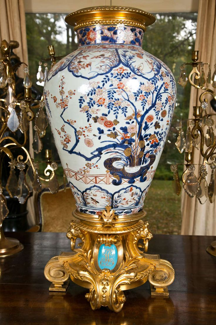 898 best pattern imari from japan images on pinterest 1718th century japanese imari vase with 19th century gilt bronze mounts reviewsmspy