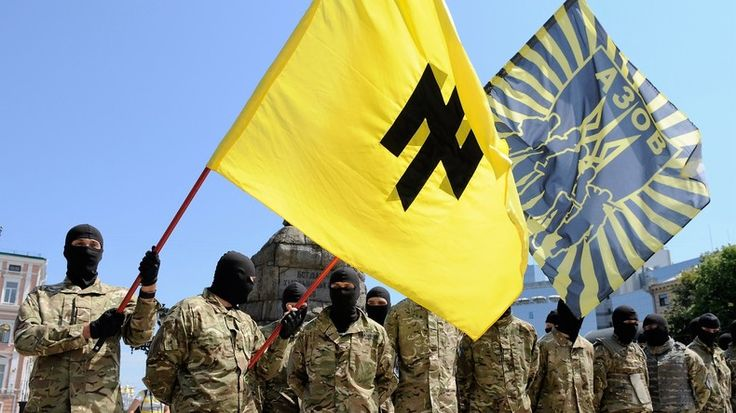 """Die politische Landschaft der Ukraine ist um eine nationalistische Partei reicher. Diese erwuchs aus dem so genannten """"Asow""""-Regiment. Die Gründung stellt eine weitere Maßnahme dar, um militante Kräfte mit nazistischem Hintergrund weißzuwaschen."""
