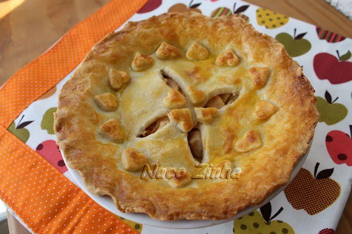 Torta americana de maçã (apple pie) » NacoZinha - Blog de culinária, gastronomia e flores - Gina