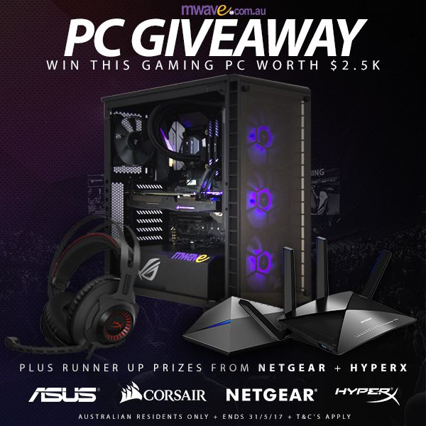 Win a Gaming PC built by MWAVE