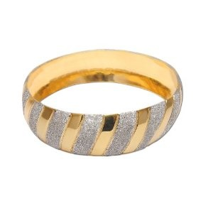 Gold and Rodium Plated Bangle Bracelets Costume Jewelry in Indian-Style 2.25 inches (Jewelry)  http://howtogetfaster.co.uk/jenks.php?p=B001PVQTV2  B001PVQTV2