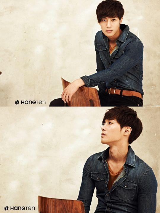Kim Hyun Joong shows his down to earth charm for clothing brand 'Hang Ten'