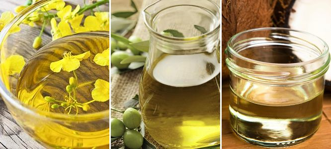 Canola vs Olive Vs Coconut Oil | Which oil is better or more healthier? A comparison between canola oil, olive oil and coconut oil.