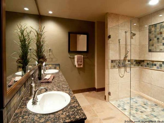 Granit – najlepszy kamień do łazienki