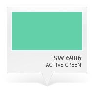 SW 6986 - Active Green