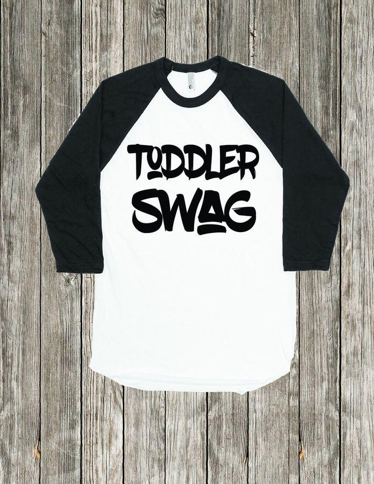 Toddler Swag,  Trendy Toddler Shirt
