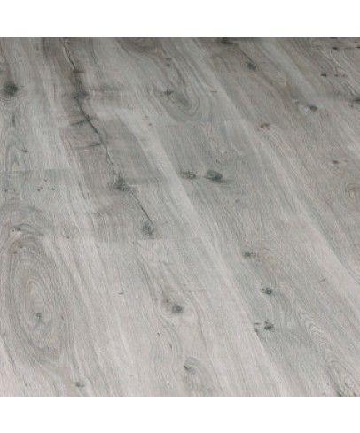 Feuchtraumlaminat #Laminat nur 23,49€/m² → Laminat Berry Floor - Riviera HydroPlus - Eiche Silbergrau - Laminat