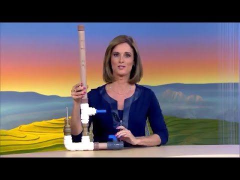 Bombinha artesanal permite irrigar sem gastar energia e combustível. Irrigar a…