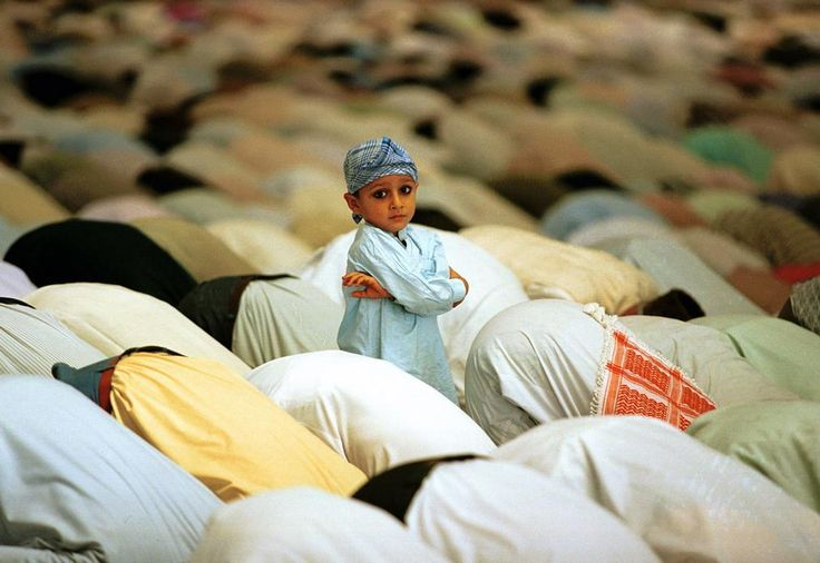 Friday Prayers in Islamabad, Pakistan