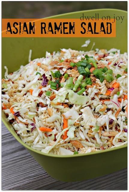 Asian Ramen Salad...this is my fav salad EVER!!!