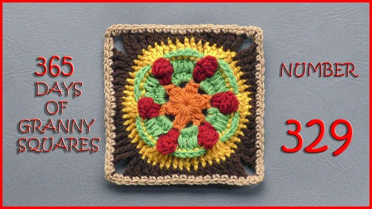 365 Days of Granny Squares Number 329