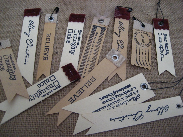 tags: Fabrics Staples, Names Tags, Christmas Gifts Tags, Holidays Gifts Tags, Gifts Wraps, Gift Tags, Flags Shape, Christmas Tags, Swings Tags