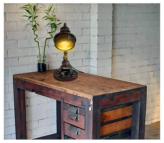 Bedroom night table lamps Bedside table lights Edison