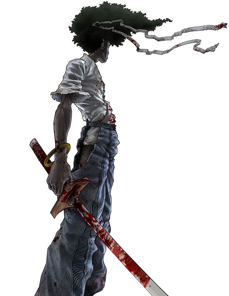 Samurai Anime Characters : Best images about afro samurai on pinterest anime