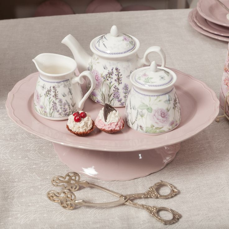 Lavender&Rose Tea set is you perfect choice for any Lady!