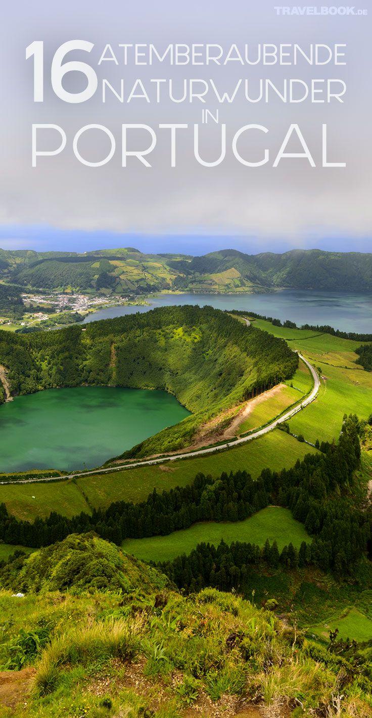 Portugal ist wahrlich kein großes Land: Mit rund 93.000 Quadratkilometer hat es nur ein Viertel der Fläche Deutschlands. Doch die Natur hat sich auf dem kleinen Raum einiges einfallen lassen. 16 Orte, die Portugiesen und Besuchern gleichermaßen den Atem rauben.