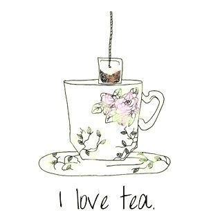 "Something my great grandmother use say ""I love coffee. I love tea. I love honey and my honey loves me."" :-)"