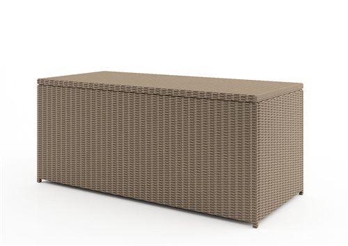 ulozny box z umeleho ratnu 160 cm pieskovy