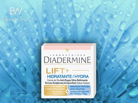 Diadermine Lift+ Hydra: συνδυάζει την ισχυρή ενεργοποίηση του κολλαγόνου με την έντονη δράση ενυδάτωσης που διαρκεί ως και 48 ώρες! #diadermine #beautyway
