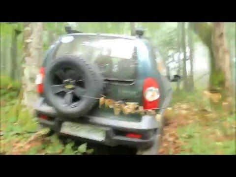 Chevrolet Niva, Нива 4х4 Лайтовая поездка по красотам Адыгеи - YouTube
