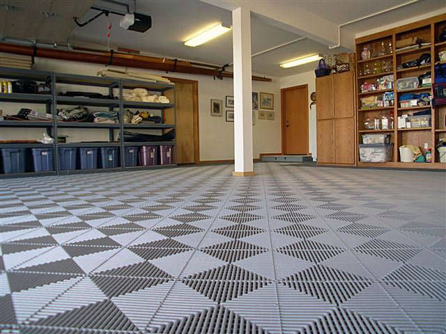Large Garage Floor Tiles