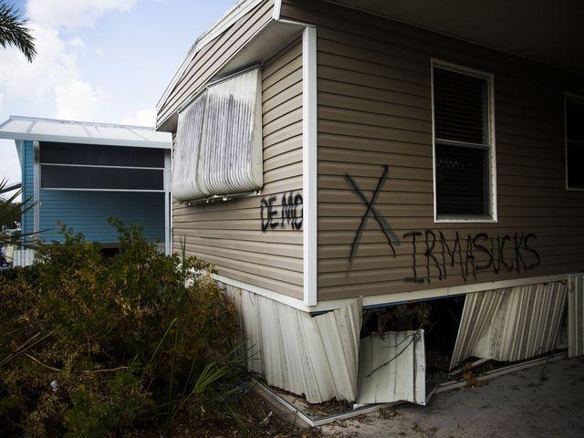 Hurricane Irma: Mobile home residents in flood zones fall through the cracks