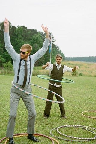 Avoid any awkward silences and get your guests in a glorious mood with an array of games for them to play in the sun. From croquet, to sack races and giant Twister, there's something for everyone. And what's even better than that, you can hang on to them and whip them out the next day for a post-wedding soiree in the sun! Perfect.