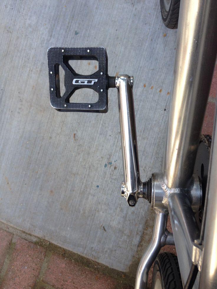 """GT pedals on 24"""" BMX cruiser"""