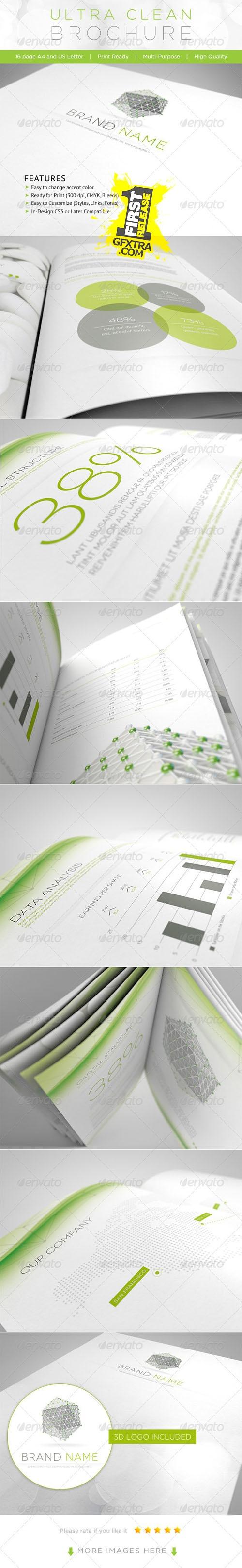 GraphicRiver: Ultra Clean Brochure