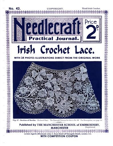 No.43 Needlecraft Journal Irish Crochet Lace – ratherdoknitting – Picasa tīmekļa albumi