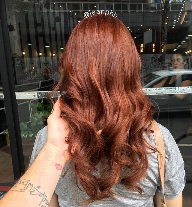 Parece até filtro, de tão lindo  mas filtro é pra quem precisa  #ruiva #ruivo #ruivanatural #ruivodossonhos #ginger #gingerhair #redhair #redhair #haircolor