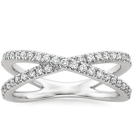 French Pave Diamond Ring: Right hand RING!  Would love to have one of these for my thumb!