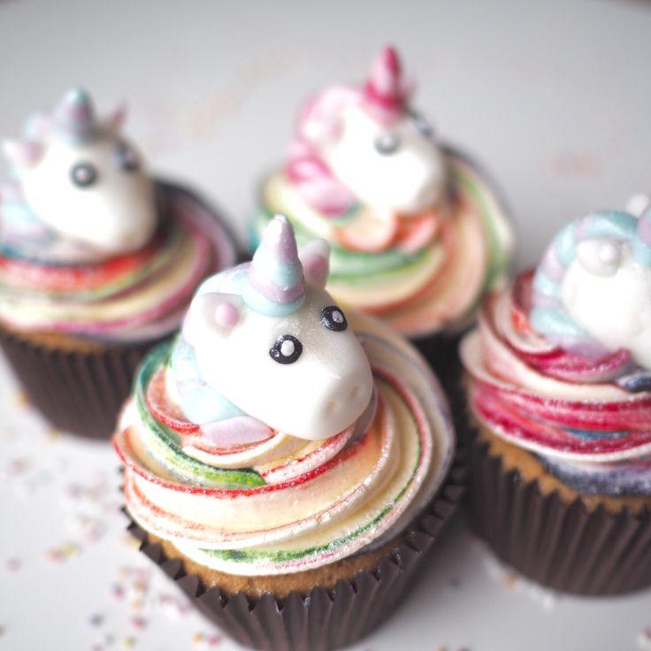 Unicorn Cupcakes Kids Birthday Ideas Cupcakes