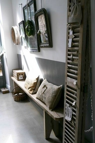 les 25 meilleures id es de la cat gorie d cor ferme sur pinterest d cor de ferme rideaux de. Black Bedroom Furniture Sets. Home Design Ideas
