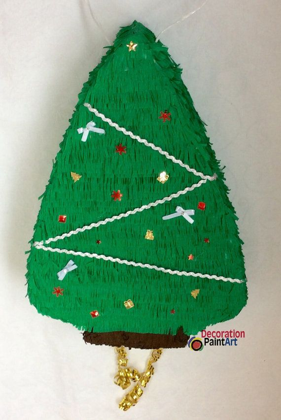 64 Best Piniaty Images On Pinterest Birthday Party Ideas Events  - Christmas Tree Pinata