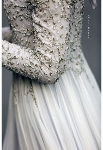 Delphinium Gown. Oh so lovely! | the details are gorgeous !