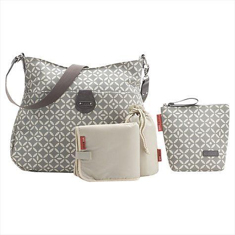 Buy Storksak Nina Bag, Grey Online at johnlewis.com