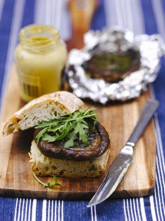 Garlic Mushroom Burgers | Vegetable Recipes | Jamie Oliver