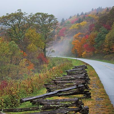 Southern Living's recommendations for North Carolina Stops on the Blue Ridge Parkway.