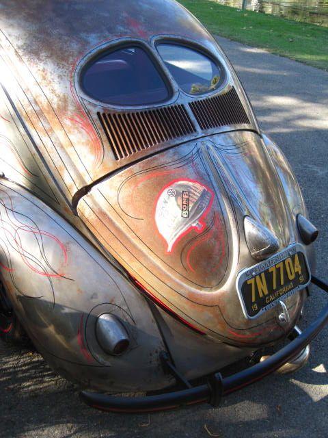 """1951 Beetle Custom---""""Full Metal Jacket"""""""
